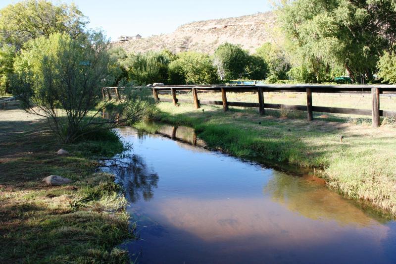 Mason Creek next to Corral - Piece  Of Heaven On Oak Creek Near Sedona - Sedona - rentals