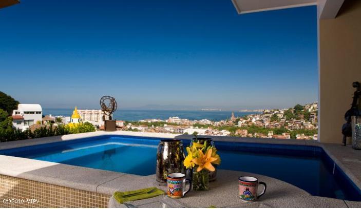 CASA CELESTE, 1Bed/1Bath penthouse suite with pool - Image 1 - Puerto Vallarta - rentals