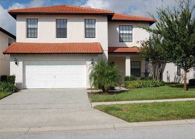 Front View - CALEDONIA: 4 Bedroom Pool Home with Two Master Suites in Gated Community - Clermont - rentals