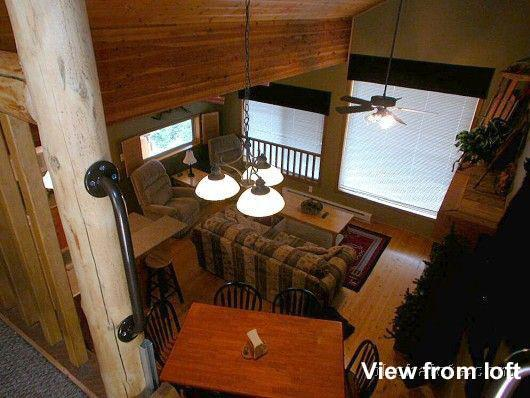 View from Loft Room of the Bellevarde Chalet Unit D - The Bellevarde Chalet Unit D at Big White Resort - Big White - rentals
