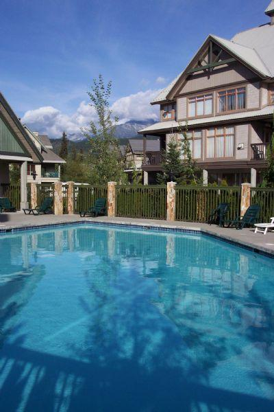 oxygenated heated year round outdoor pool - 2 bedroom townhouse in the heart of Whistler - Whistler - rentals