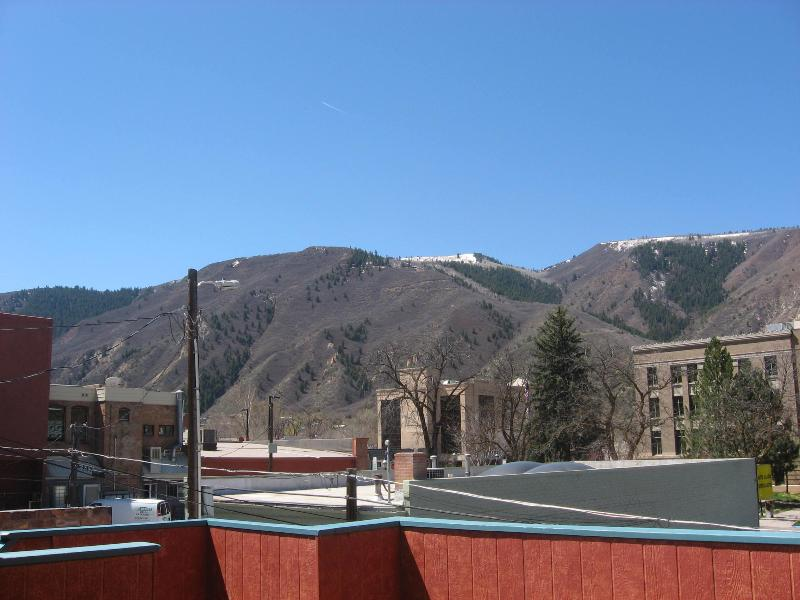 View of Red Mopuntain from deck - Great Location for Mountain Vacation--The Loft - Glenwood Springs - rentals