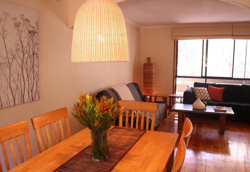 Open plan living with treetops views - Enjoy a treechange @ The Escarpment - Halls Gap - rentals