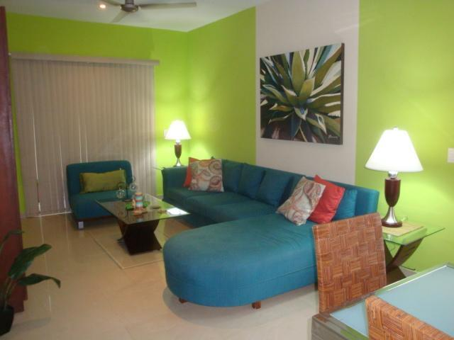 living room - 2 BR CASA EDEN at Coco Beach - affordable luxury - Playa del Carmen - rentals