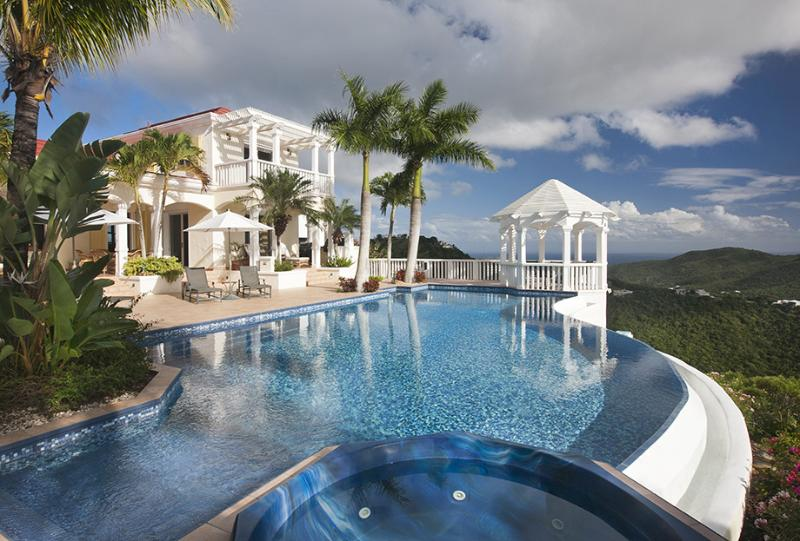 Infinity at Skyline Drive, St. Thomas - Ocean View & Pool - Image 1 - Magens Bay - rentals