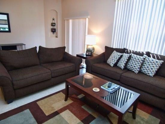Living Area - RO3T2706BD 3 Bedroom Townhome with Baby Gear - Orlando - rentals