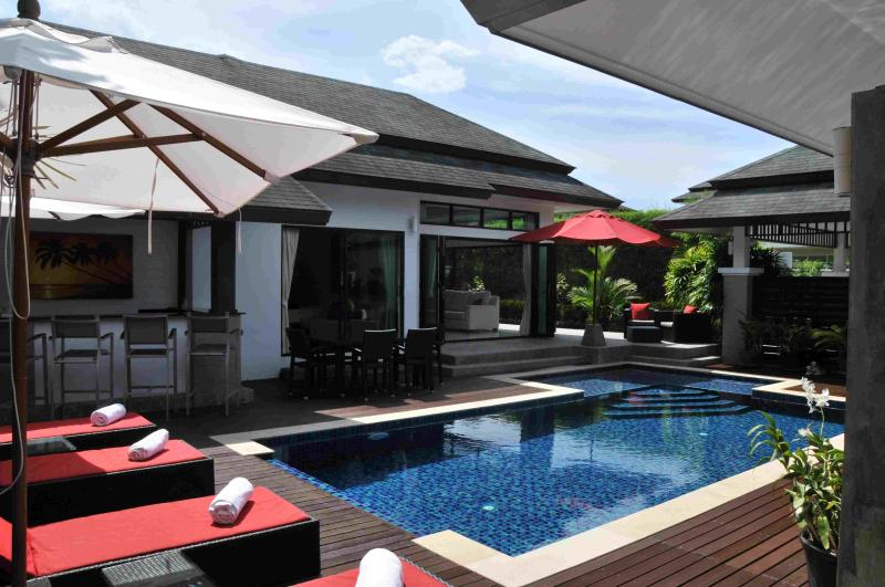 Private Pool Deck - 4 Bedroom Luxury Pool Villa in Layan Phuket - Cherngtalay - rentals