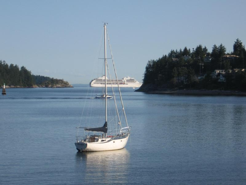 View from Captain J's Deck - Captain J's Seaside Suite - Gibsons - rentals