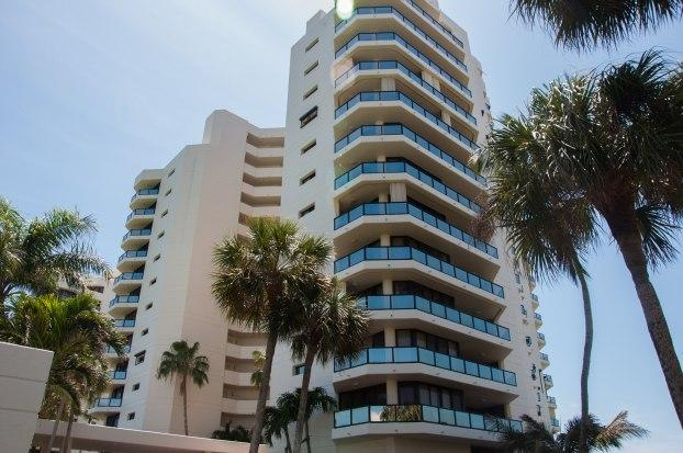 Building Exterior - Sandcastle - SCII005 - South-end Beachfront Condo - Marco Island - rentals