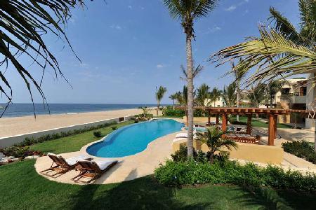 Spacious 15,000 Sq Ft Villa on White Sand Beach Ocean Cove - Villa Nilpi - Image 1 - San Pancho - rentals