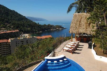 Hillside Casa Mismaloya- ocean views, infinity pool, jacuzzi, near beach - Image 1 - Mismaloya - rentals