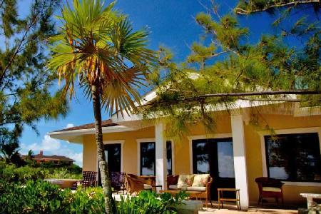 Lindon Villa at Fowl Cay - Charming beachfront villa with shared pool & tennis court - Image 1 - The Exumas - rentals