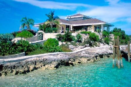 Birdcage Villa at Fowl Cay - Lovely villa on a peninsula comes with boat & freshwater pool - Image 1 - The Exumas - rentals