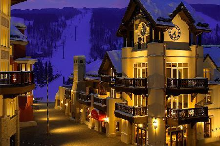 Luxe Apartment with View on Vail Ski Slopes Featuring Stone Fireplace, Balconies and Jacuzzi - Image 1 - Vail - rentals