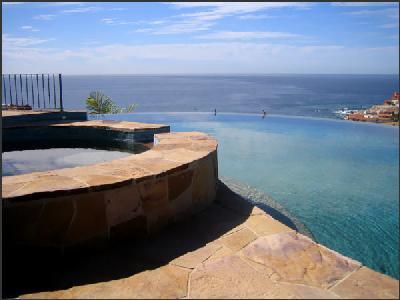 Hacienda Santa Rita, ocean-view terrace with infinity pool and hot tub - Image 1 - Cabo San Lucas - rentals