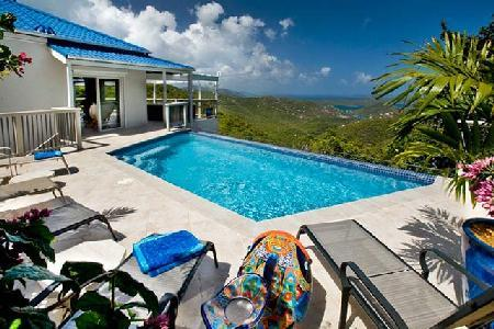 Bordeaux Breeze - Private villa with pool & spectacular Caribbean panorama - Image 1 - Bordeaux Mountain - rentals