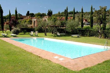 Hillside Casa Maria on Mansi Bernardini Estate with pool & tennis court - Image 1 - Lucca - rentals