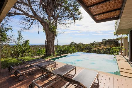 Ocean view Tierra- BB22 on tropical grounds, with pool- jacuzzi & landscaped rooftop - Image 1 - Guanacaste - rentals