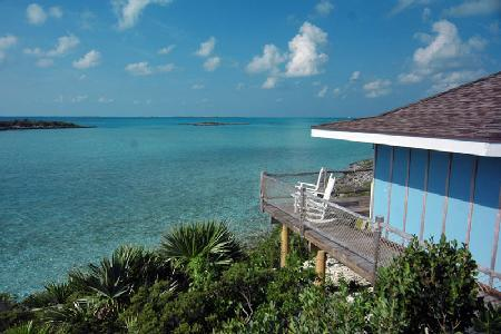 Starlight Villa at Fowl Cay - Romantic beachfront villa with shared pool & tennis court - Image 1 - The Exumas - rentals