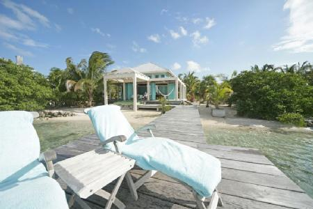 Casa Manana - Majestic ocean front villa with private dock & plunge pool, ideal for honeymooners - Image 1 - San Pedro - rentals