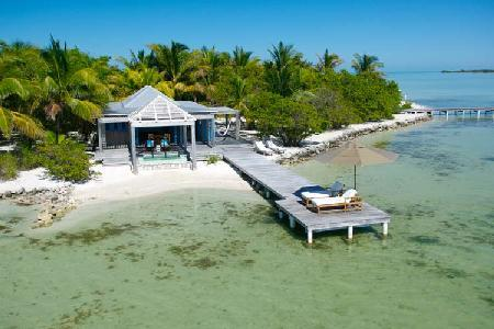 Secluded beachfront hideaway Casa Brisa with intimate jacuzzi & private dock - Image 1 - San Pedro - rentals