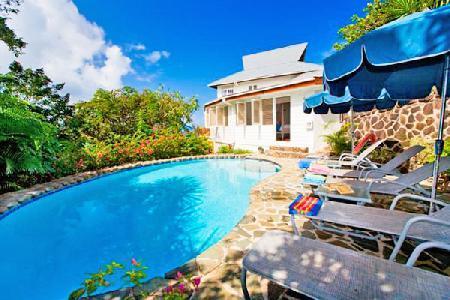 Hummingbird House - Caribbean style house with pool, sun deck & spectacular views - Image 1 - Cap Estate - rentals
