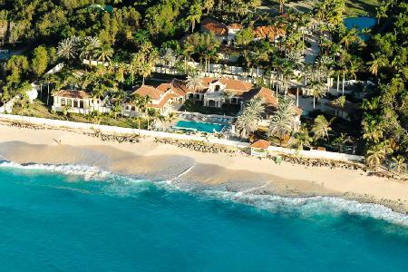 World Class Beachfront Estate - Le Château des Palmiers - Image 1 - Terres Basses - rentals