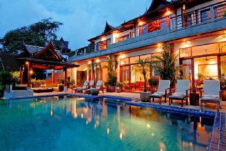 Villa Arawan boasts superb ocean views, infinity pool- jacuzzi - Image 1 - Cherngtalay - rentals