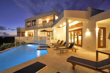 Award-winning Sheriva Estate with 2 pools, golf cart to the beach & full staff - Image 1 - Anguilla - rentals