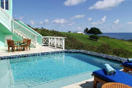 La Viridian - Lovely villa with salt water pool & beautiful ocean views - Image 1 - East End - rentals