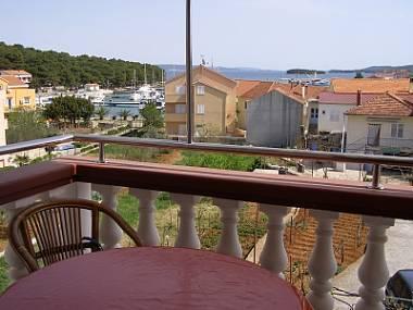 A3(4+2): terrace view - 4944 A3(4+2) - Kukljica - Kukljica - rentals