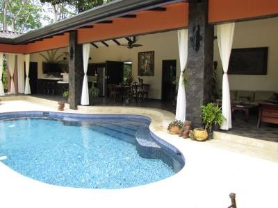 private pool as seen from outside - Enchanting Casa Manana - Dominical - rentals