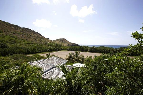 A beautiful modern villa with a peaceful tropical setting WV CAM - Image 1 - Saint Barthelemy - rentals