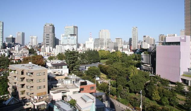 Amazing view from balcony - Roppongi Amazing View Apartment 1 min to station - Minato - rentals