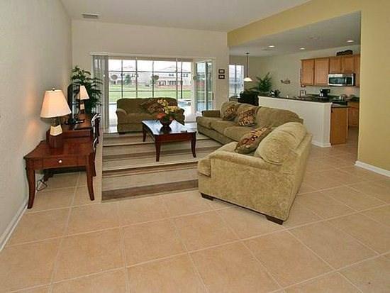 Living Area - WH5P7758TB 5 BR Holiday Villa Close to Disney World - Orlando - rentals