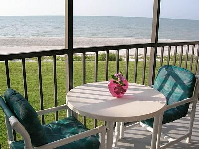 View from the lanai - Sundial BEACHFRONT - Best Location in Sanibel - Sanibel Island - rentals
