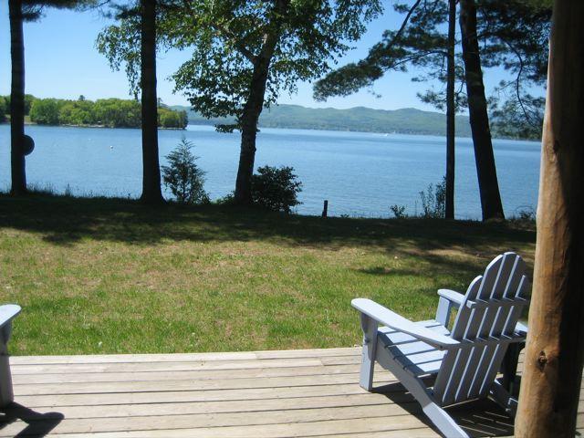 Lake Champlain,  lakefront cottage, mid-Vermont - Image 1 - Vergennes - rentals