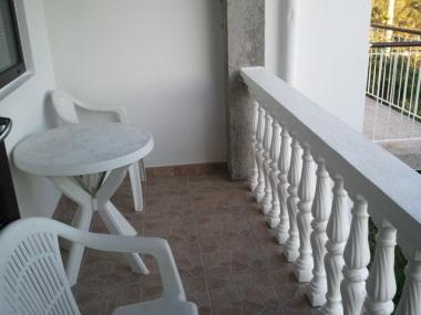 A2(4+4): balcony - 4956  A2(4+4) - Banjol - Banjol - rentals