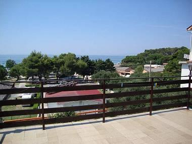 A1(4+2): terrace view - 4956  A1(4+2) - Banjol - Banjol - rentals