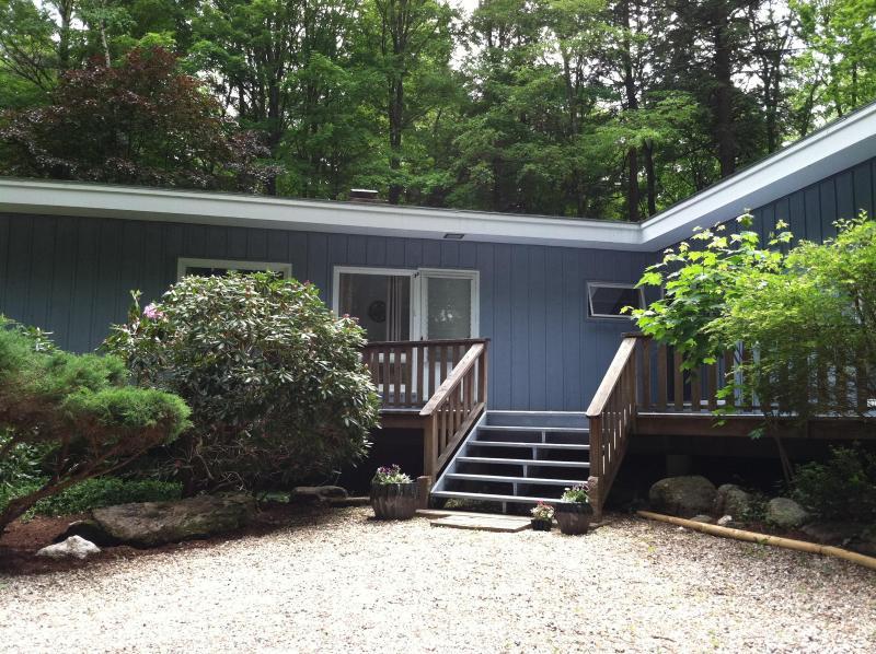 House exterior - Spacious comfortable mid-century modern near town - Lenox - rentals