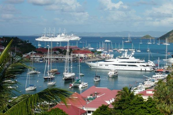 Perfectly located villa with harbor & sunset views WV CCB - Image 1 - Gustavia - rentals