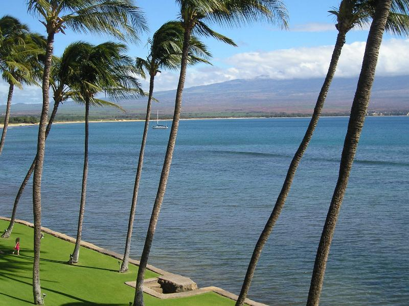 Veiw from Lanai - Maui Oceanfront  Luxury 2bd/2bath Condo - Maalaea - rentals