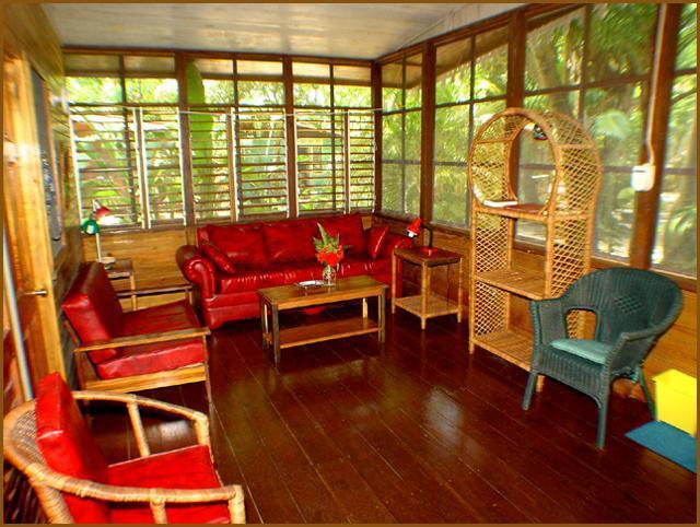 Garden 2/3 BR cottage interior - Nirvana on the beach 2/3 BR Cottage w/full kitchen - Negril - rentals