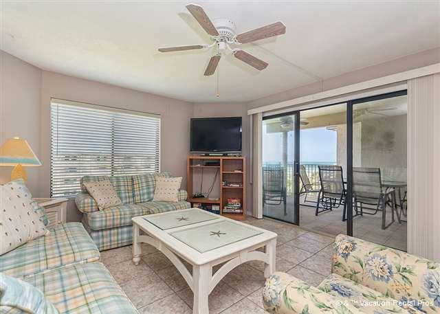 Our beach chic condo awaits you! - Colony Reef 1407, 4th floor, 3 Bedrooms, Heated Pool, HDTVs - Saint Augustine - rentals