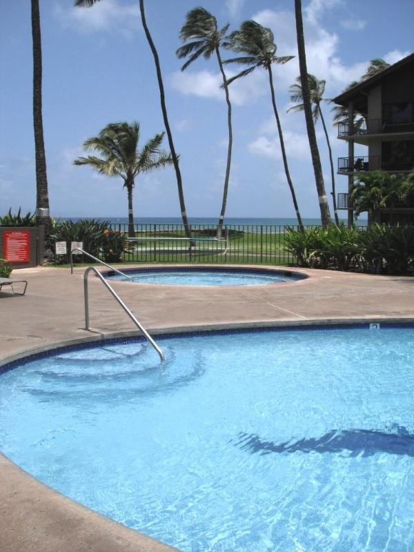 1 of 2 Pools and 2 Hot tubs on the Resort - **CALL FOR AVAILABILITY**1 Bdrm Sunset Oceanview - Kaanapali - rentals