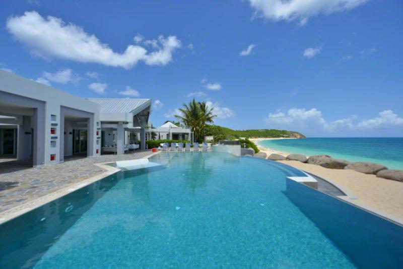 Le Reve at Baie Rouge, Saint Maarten - Located On Private Beach Area, Pool, Tennis Court - Image 1 - Terres Basses - rentals