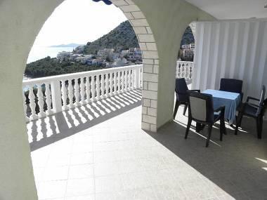A3(2+2): terrace - 4659 A3(2+2) - Drage - Drage - rentals