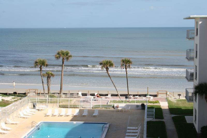 Our Amazing View - 1/1 Oceanfront Condo available for the Holidays! - New Smyrna Beach - rentals