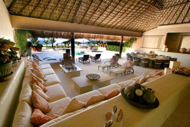 Welcome to Casa Rubia! - Luxury Beachfront Villa - Chef, Maid,Car & Driver - Puerto Escondido - rentals