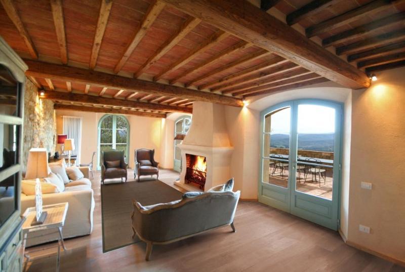 Lounge area - Villa Belforte Chic contemporary Villa with spa - Radicondoli - rentals